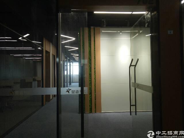 福永塘尾地铁口C出口红隼天启高薪研发大厦出租560平方办公室