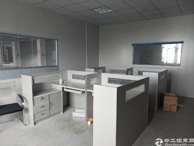 工业园标准厂房4楼1250平有办公室装修