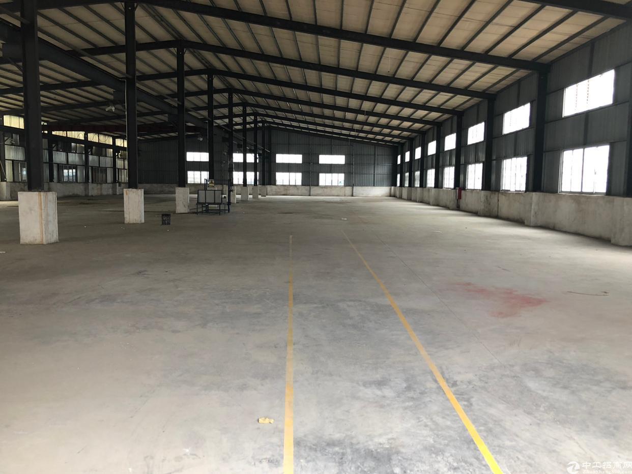 大朗独院单一层钢结构厂房3500平方仓库招租出租