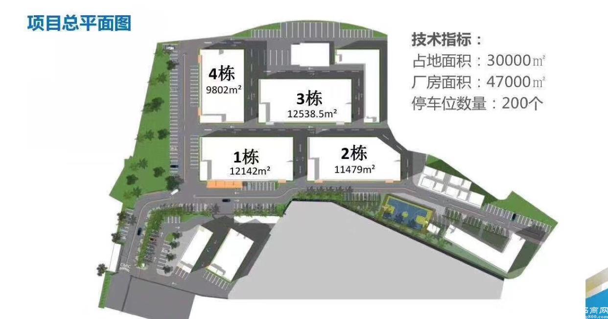 石岩新出独栋厂房9800平米共5层隆重招商