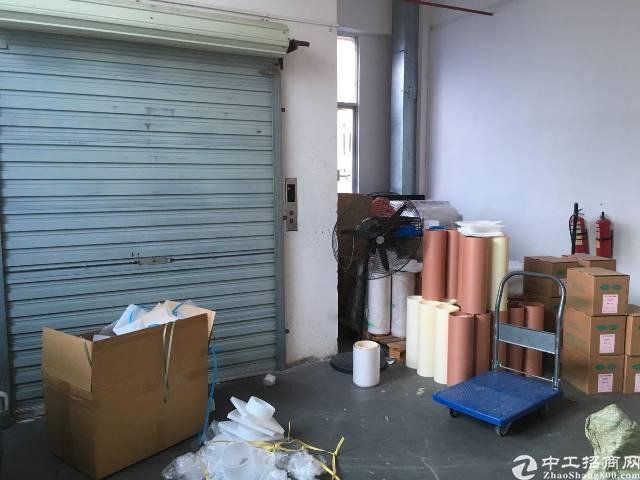 沙井庄村商业街旁工业园有楼上680平带装修厂房出租-图8