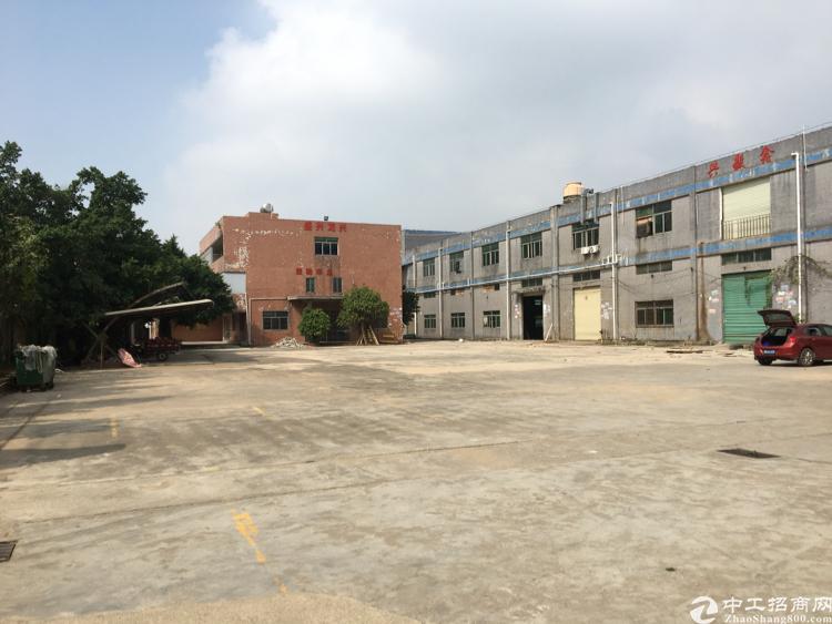 松岗地铁口附近主干道旁原房东独门独院1-2层8000平米招租