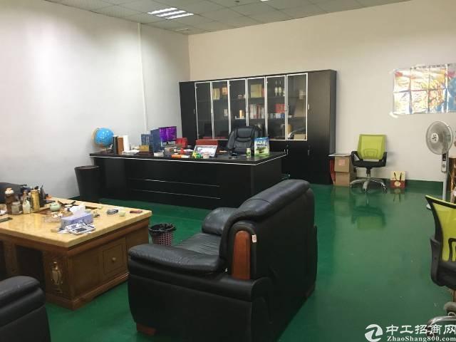 沙井庄村商业街旁工业园有楼上680平带装修厂房出租-图9