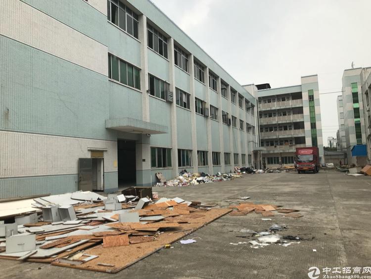 横沥三江新出独院厂房3层4000平方一楼6米 现成水电