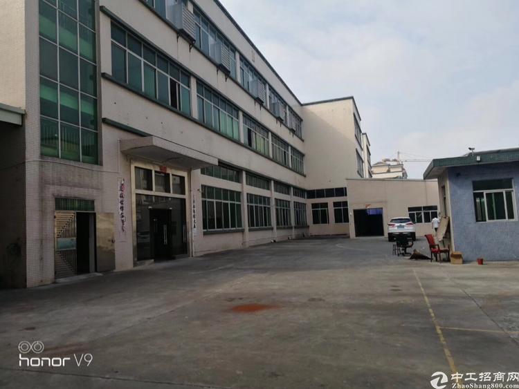 横岗原房东独院厂房5550平方米出租