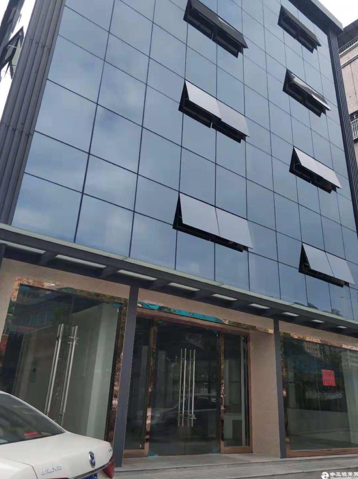 坂田杨美地铁站独栋厂房办公楼1-5层1000平方可分租