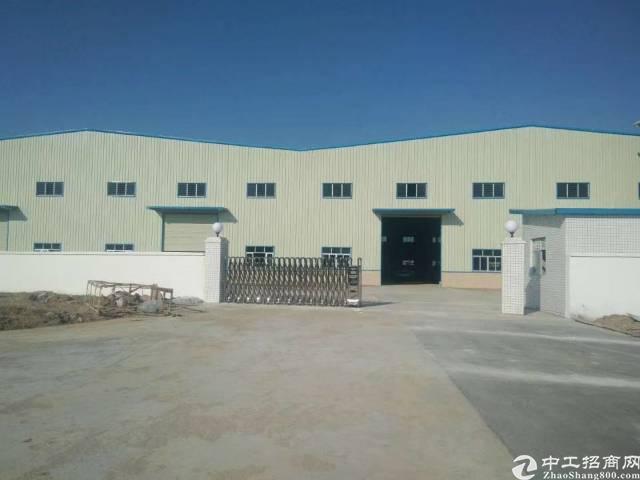 中堂东莞中堂单一层滴水9.5米高钢构厂房出售