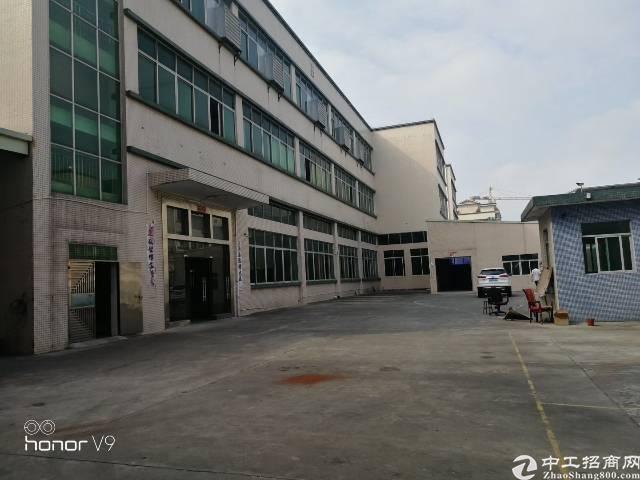 平湖华南城附近新出一二楼2000平方独院厂房招租可分租