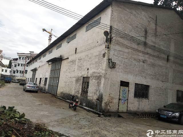 茶山镇自建厂房独门独院出租1100平方