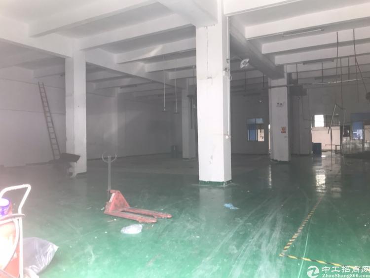 南城工业园厂房一楼830方招租,带办公室