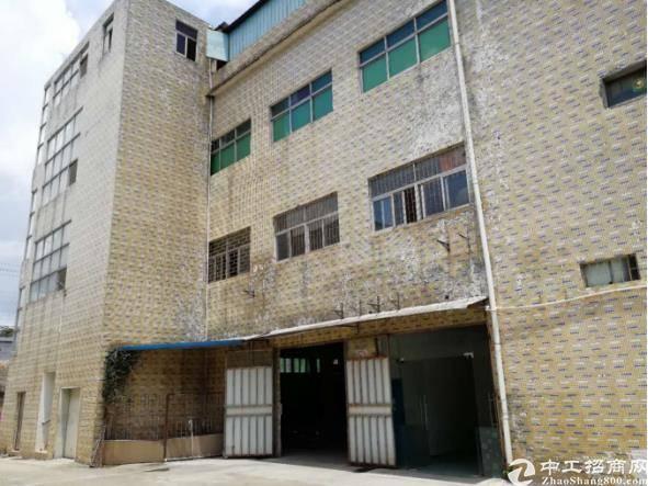 凤岗镇占地1250㎡,建筑3600㎡优质土地及小独院厂房出售