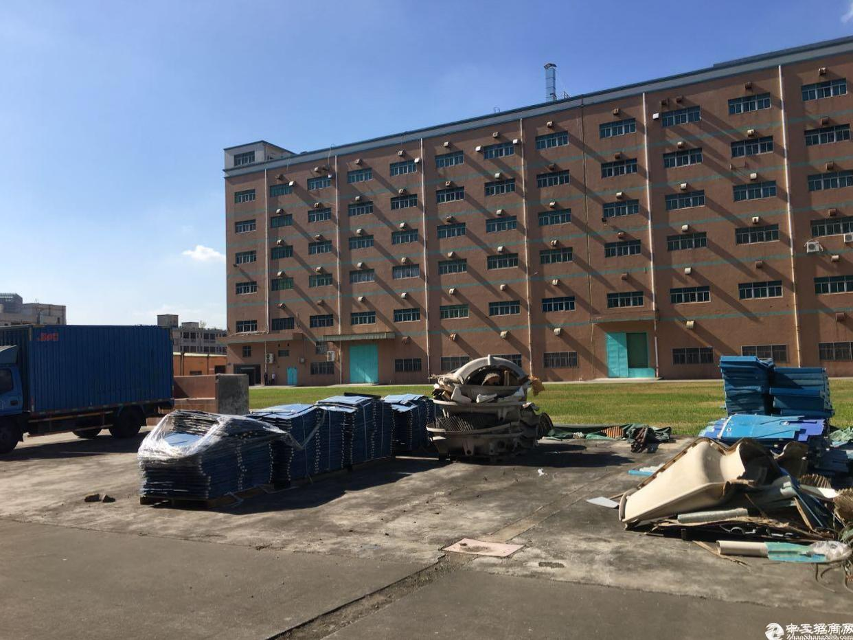 布吉新出标准厂房一楼6000平方高度8米带牛角可分租