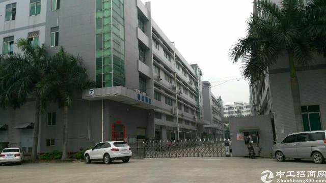 沙井新桥黄埔村洪田工业区3层3600平方独院厂房出租-图4