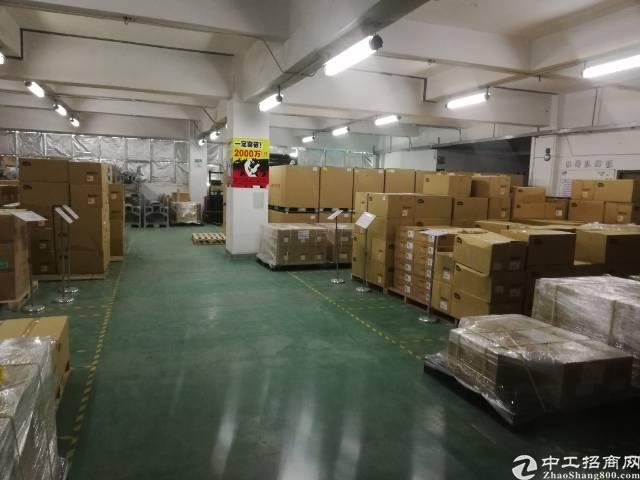 沙井大王山新出楼上整层1780平精装厂房出租-图4