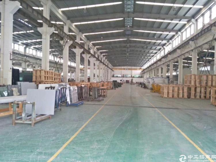 长安镇沿江高速附近新出原房东单一层独院2400平米厂房出租