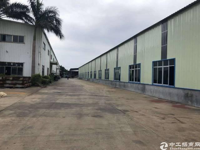 惠州园洲新出独院原房东实际面积出租钢构厂房5500平米-图4