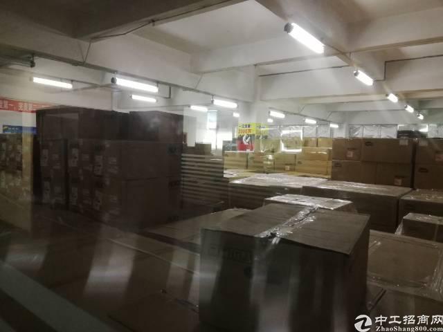 沙井大王山新出楼上整层1780平精装厂房出租-图5