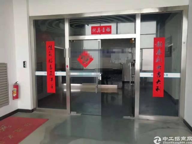 沙井洪田高速出入口附近有楼上一整层带装修厂房出租-图3