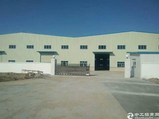 东莞单一层滴水9.5米高钢构厂房出售
