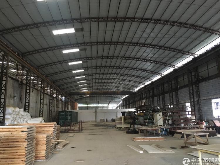 东莞水乡单一层滴水9米高厂房出售!