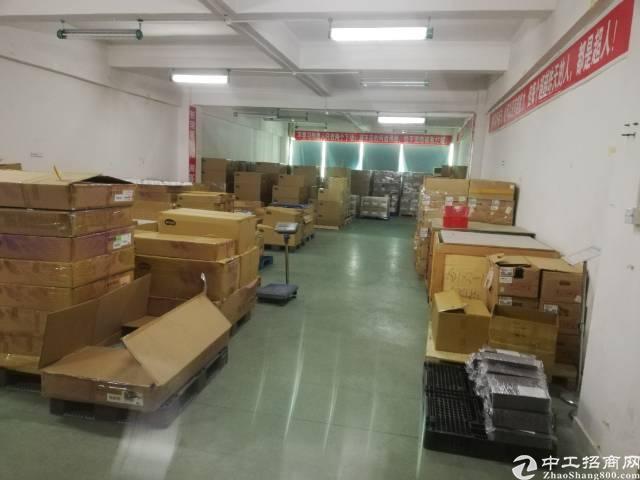 沙井大王山新出楼上整层1780平精装厂房出租-图2