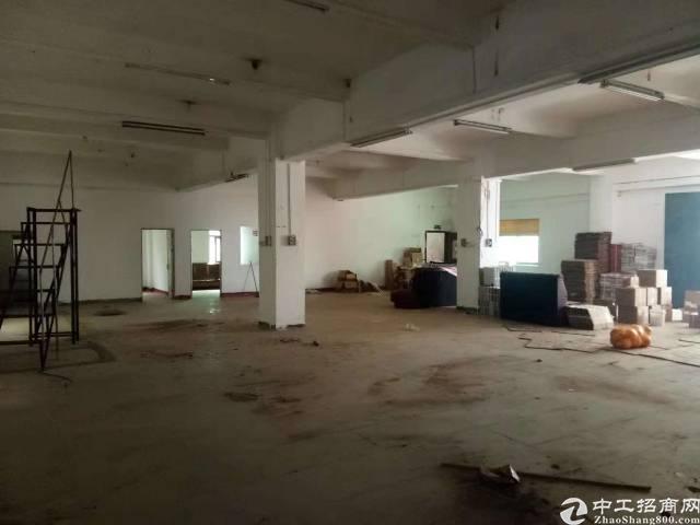 惠州小金口主干道旁独院一楼650平标准厂房出租!