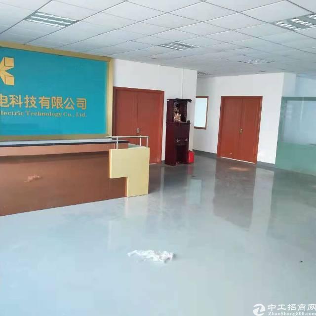 沙井新桥黄埔村洪田工业区3层3600平方独院厂房出租