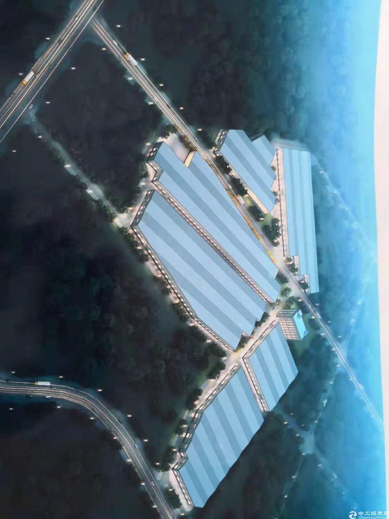 茶山镇单一层钢构工业园