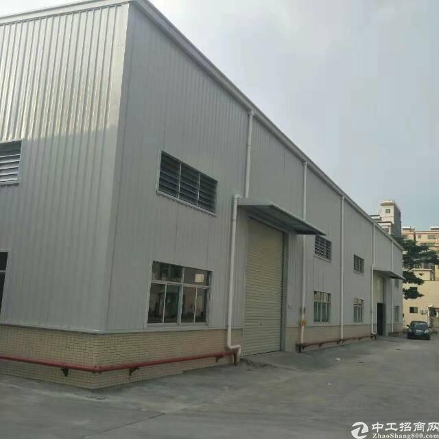 惠州博罗龙溪原房东面积实量6米单一层厂房仓库能进货柜