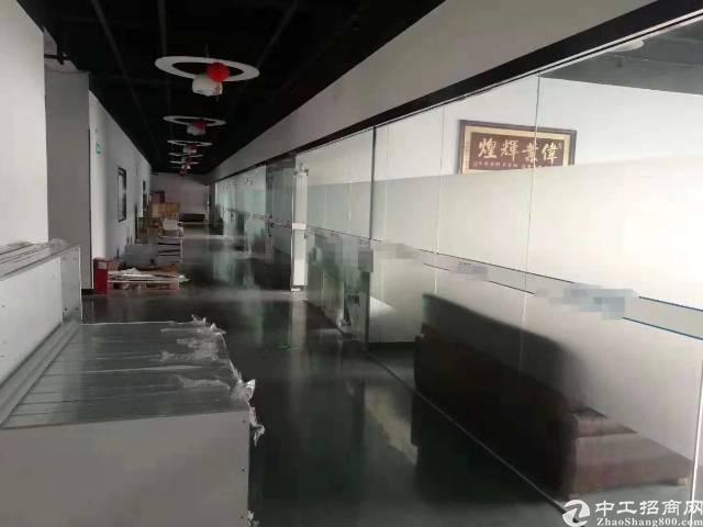 沙井洪田高速出入口附近有楼上一整层带装修厂房出租-图6