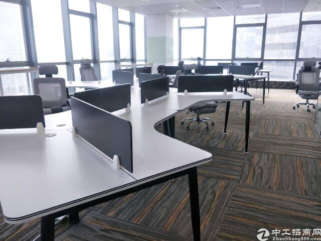 (出租)南山科技园精装办公室295平,特价85/平享政府补贴
