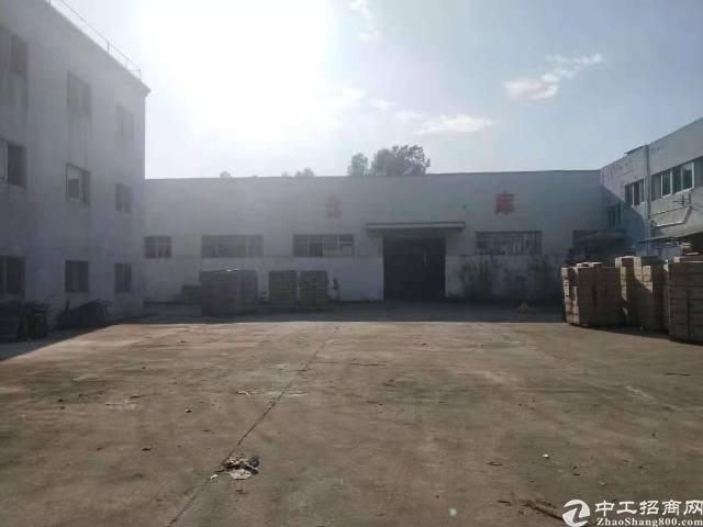 惠州小金口主干道旁独院1200平钢构厂房出租!-图2