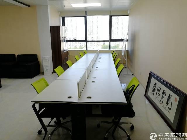 看海景宝安西乡地铁口200平米甲级写字楼特价出租