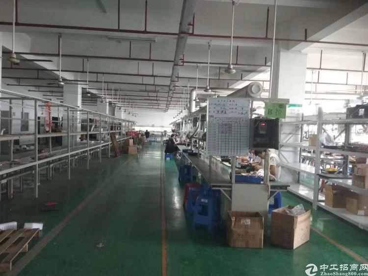 松岗义乌附近原房东厂房豪装出租2000平米无公摊低价免转费-图6