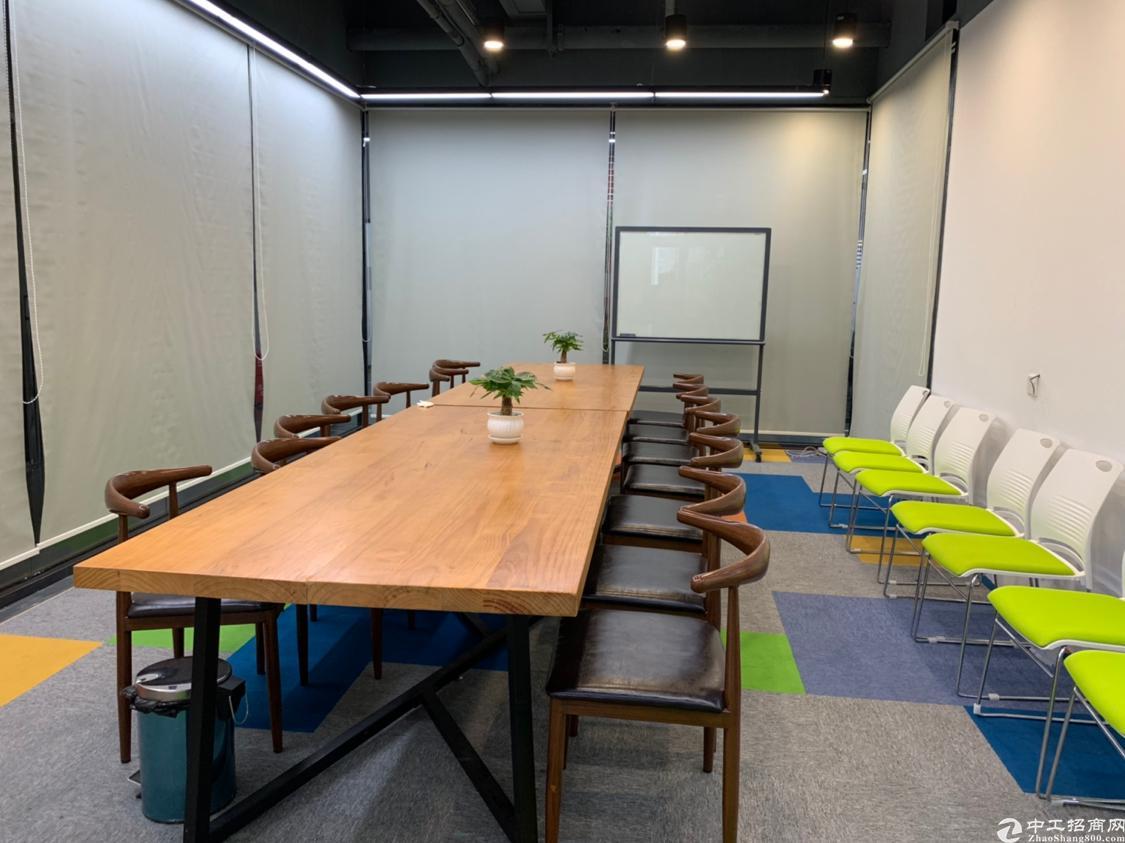 高级豪华精装修写字楼最小65平方米起租免费使用会议室酒水吧台
