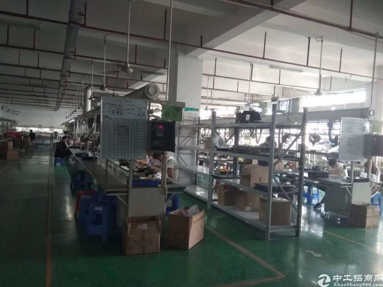 松岗义乌附近原房东厂房豪装出租2000平米无公摊低价免转费