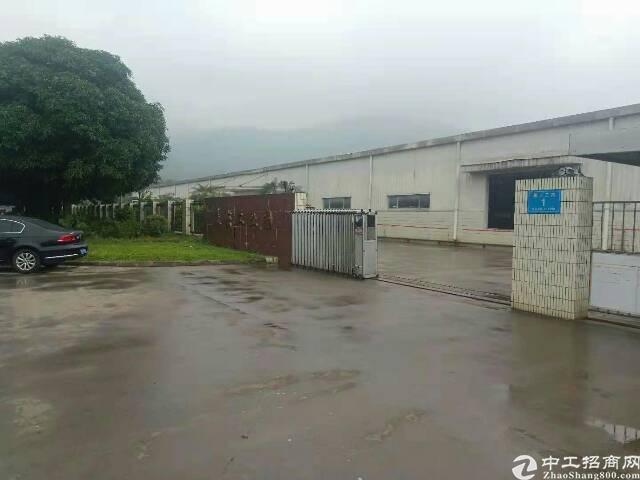 福永机场107国道边4500平米物流仓库出租(带卸货平台)