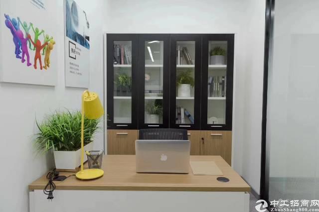 福永地铁口0距离159平米精装带家私写字楼出租