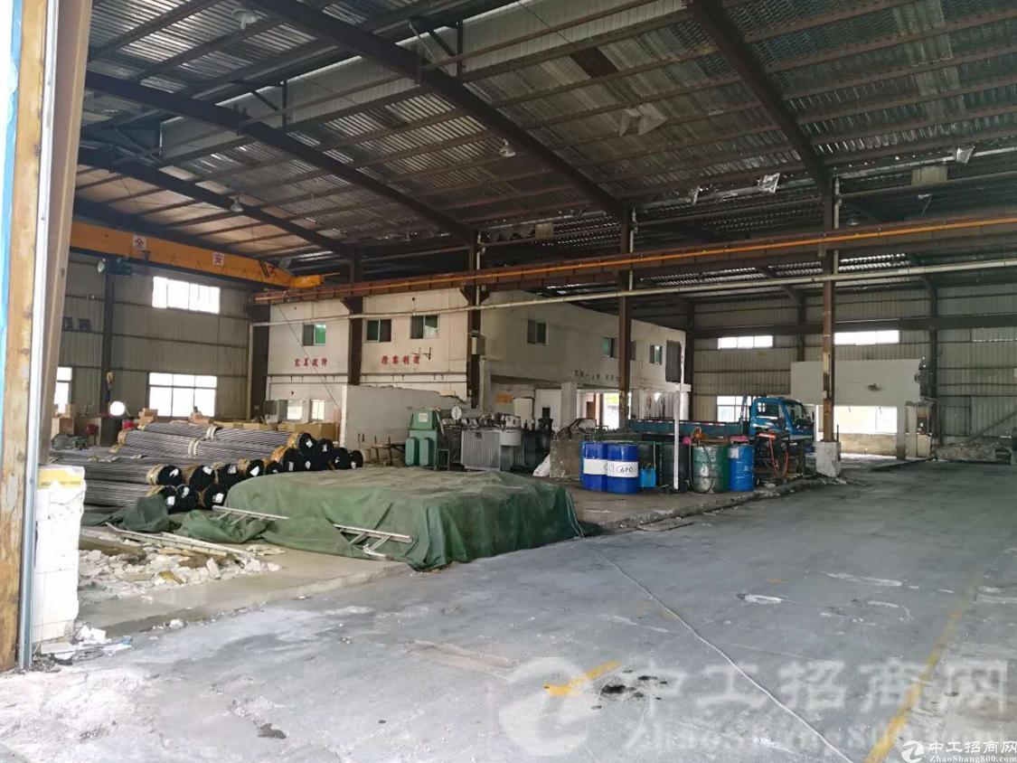厚街镇南五村实业客转租单一层厂房1250平方可做轻量污染行业