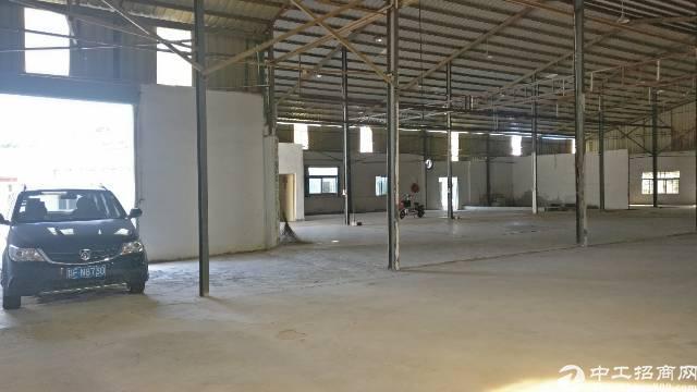 塘厦原房东独门独院1500平钢构出租,可做喷油和抛光