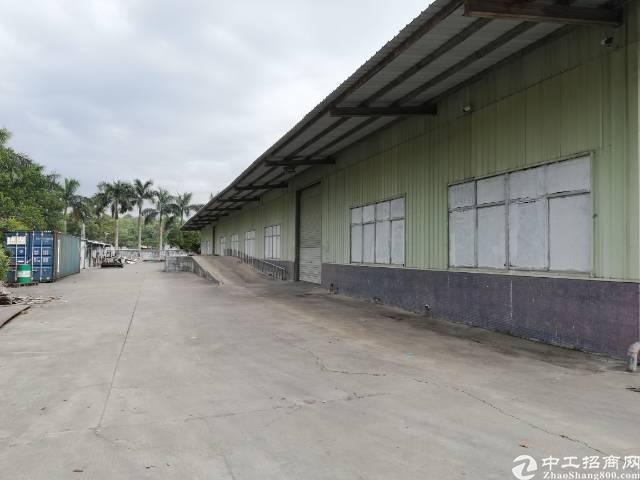 观澜梅观高速附近原房东物流园8米高仓库招租