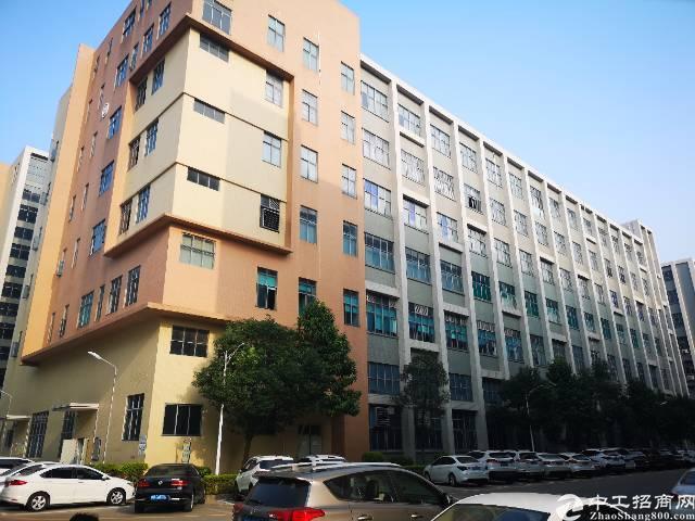 西乡黄田107国道边一楼层高7.6米厂房1800平米出租