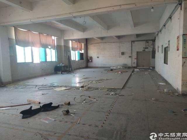 沙井107国道边新出楼上1300平米一整层厂房出租