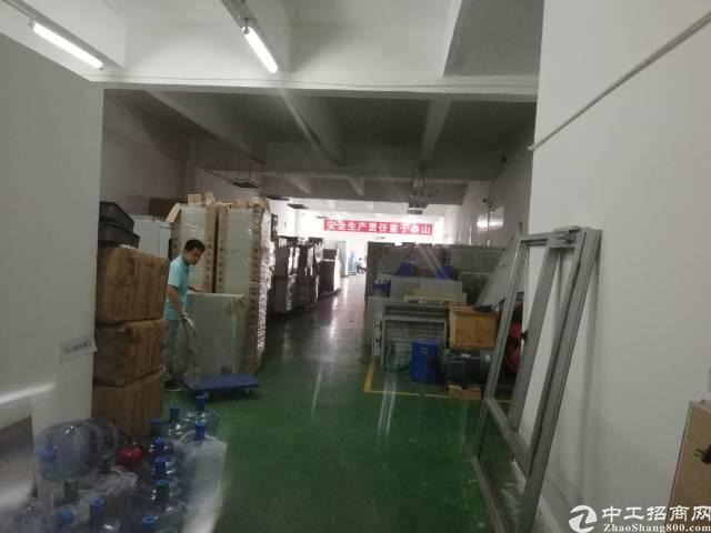 沙井后亭地铁口新出楼上整层2200平精装厂房出租-图3