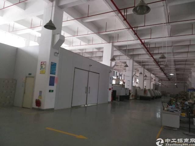 西乡黄田107国道旁精装厂房3300平出租-图2