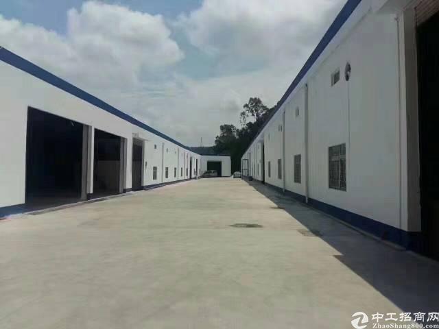 坂田五和梅林关附近新出钢构层高8米4000平厂房出租可分租