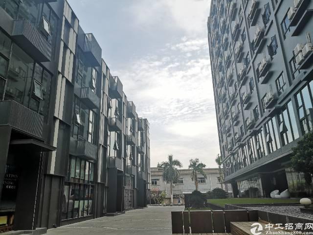 观澜大和工业区轻轨站边精装修写字楼6000平方50平分租