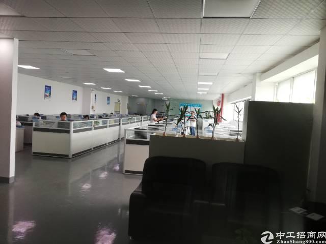 沙井后亭地铁口新出楼上整层2200平精装厂房出租-图5