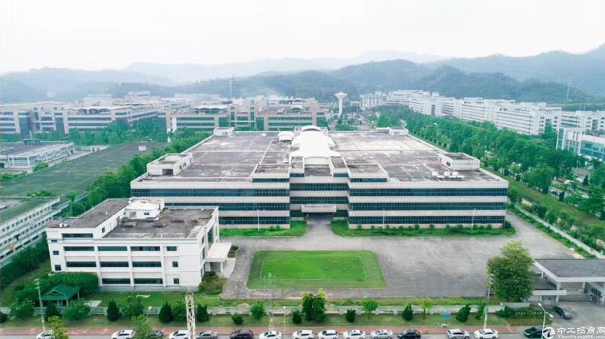 黄江高速路口大工业园独门独院双证齐全6万平可分租一楼高 10