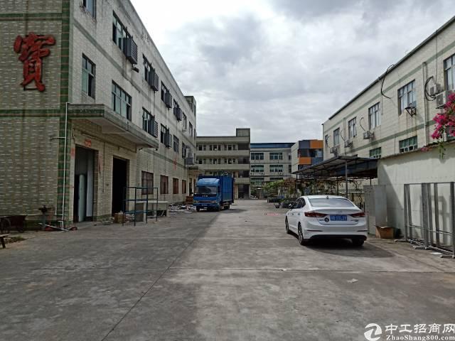 平湖华南城附近新出独院厂房1一3层8000平方招租